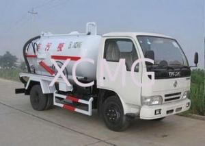 China High Efficient Special Purpose Vehicles , Sewage Pump Truck For City Environment Protection on sale