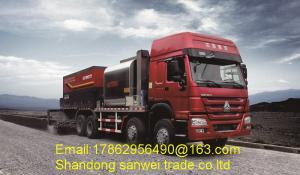 China 31t 4m Spray Width Asphalt Construction Equipment 8000L Tank Capacity LMT5311TFC on sale