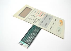 China Microwave Ovens Membrane Switch Keypad With Shielding Circuit For Protection on sale