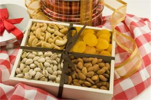 China Wooden Dry Fruit  Gift Tray on sale