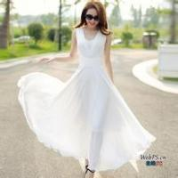Princess Wedding Gowns Long Dress In Summer Fluffy Comfortable