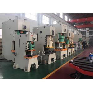 China Double Crank Automatic Power Press Machine , 300 Ton JH25 Sheet Metal Stamping Press on sale