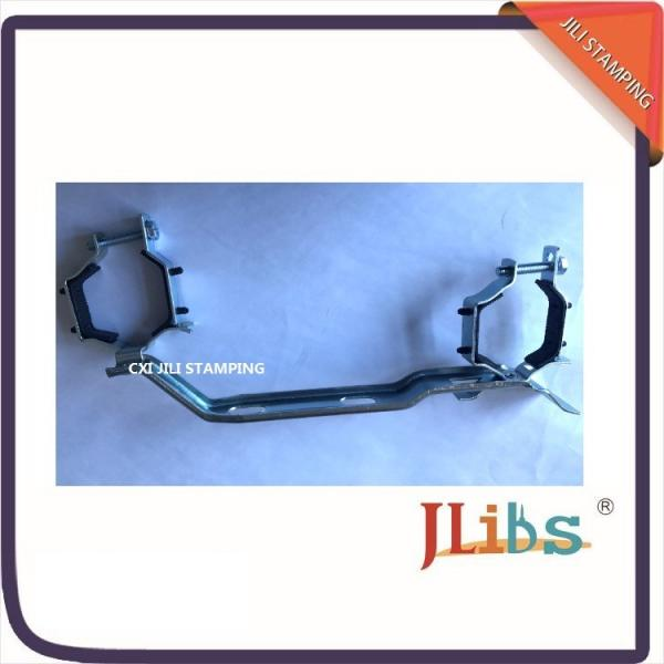 R588 Galvanized Pipe Clamps Bracket For Manifold Adjustable