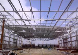 China Mordern Design Structural Steel Pipe , Customised  Structural Steel Roof Framing on sale