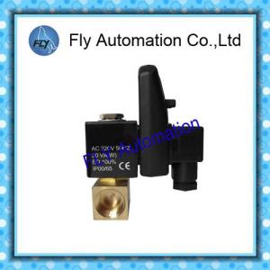 China DV720 Timer controlled Pneumatic Solenoid Valves , Electrical Automatic Drain Valve on sale