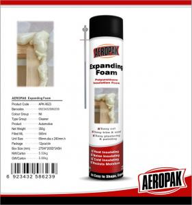 China High Temp PU Foam Sealant Expanding Tube Foam For Filling Wall / Window / Pipe on sale