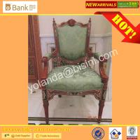 (BK0109-0012C)Noble Dining Chairs for Luxury Royal Palace Dining Table, Marquetry Super Round  Dining Room Furniture Set