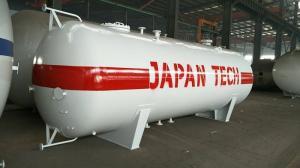 China Q345R 10MT Horizontal LPG Tank , 20000 Liters Propane Gas Storage Tank on sale