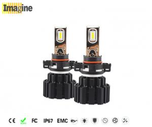 China 5202 H16 LED Replacement Headlight Bulbs 6000k High Lumen Beam Bulb Black Or Customized on sale