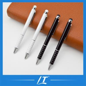 China Multi-Function Promotional Customized Own Logo Metal Ball Pen Stylus Pen on sale