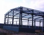 Single Storey Metal Warehouse Structure Steel Buildings Painting Surface