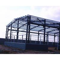 China Single Storey Metal Warehouse Structure Steel Buildings Painting Surface on sale