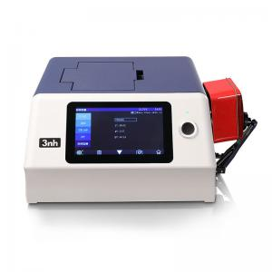China Glossy Haze Colour Measurement Spectrophotometer Benchtop Type YS6060 With Color Software on sale