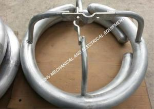 China Die Casting Aluminum Grading Ring With Hot - Dip Galvanization Surface Treatment on sale
