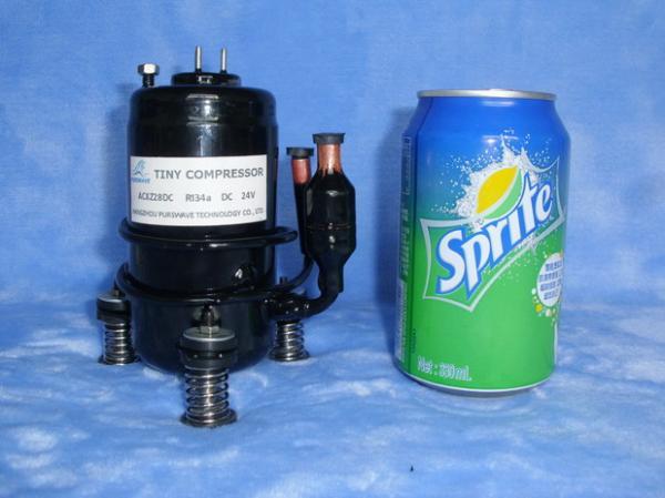 Lt27dc24h Dc Tiny Compressor 500w Capacity Mini Compressor