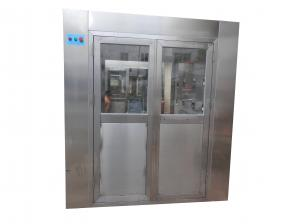 China Automatic Stainless Steel Air Shower Room For Semiconduction Workshop , HEPA Filtered on sale
