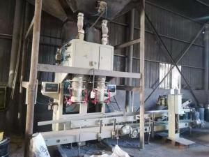 China Special Design Auto Bagging Machines For Calcium Carbide PP Woven Bags on sale