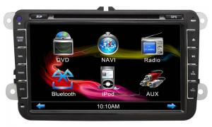 China Vw Magotan (Polo) 7 Inch Car Dvd Gps Navigation Player With Radio/Bluetooth-3d Map / Rds / Cr-8555 on sale