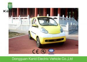 China Multi Body Color Electric City Car 2 Comfortable Seats Integral Axle Rear Suspension on sale