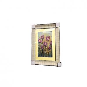 Printable  Wall Hanging Metal Frame Art  Home Garnish Ornament Plated