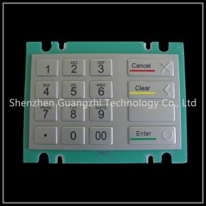 China Custom Layout Industrial Numeric Keypad With Flat Button Stretching Function on sale