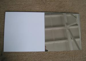 China Vinyl Backed Safety Processed Mirror Glass 3mm - 6mm , 1830mm * 3660mm on sale