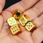 China Regular Size Casino Magic Dice / Trick Permanent Numbers Dice For Private Game wholesale