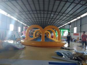 China Giant Inflatable Sports Games For Outdoor Adventure / Team Bonding Activity on sale