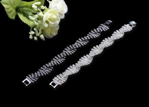 China Women's Charming & Shiny Crystal Crystal Rhinstone Bracelets For Wedding & Party BLN2025 on sale