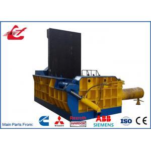 30kWモーター制御される油圧金属のくずの梱包の出版物機械三菱PLC