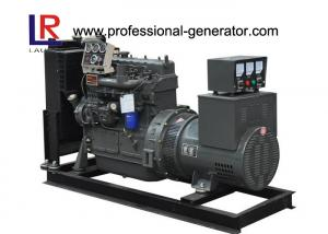 China 4 Cylinders Single Phase 37.5kVA Open Diesel Generator Powered by Water - Cooled Yuchai Engine on sale