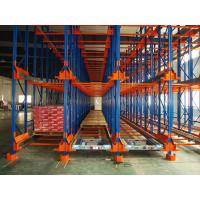 Blue Movable Storage Pallet Racking With Box-shape Beam / 2 - 8 Layer , Custom