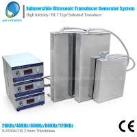 China 1800W Customized Submersible Ultrasonic Cleaner For Industrial cleaning on sale