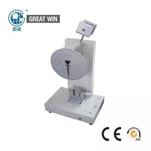 China Durable Pendulum Impact Tester , 160° Pre Elevation Plastic Laboratory Equipment on sale