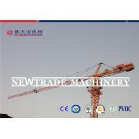 CE Certified QTZ63 Building Crawler Tower Crane With 50m Jib Length