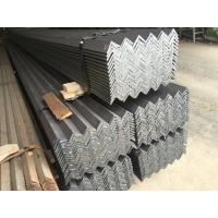 China Hot Rolled Heating Mild Steel Angle Bar with Grade EN S235JR S355JR Material on sale