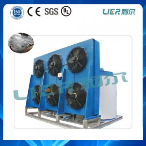 China 10 Ton Industrial Ice Flake Ice Making Machine With PLC Controller Bitzer Compressor on sale