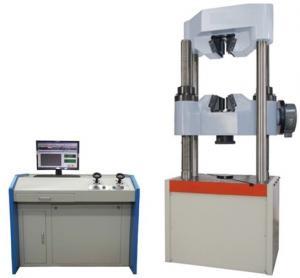 China WEW-1000C Worm gear system Computer display hydraulic universal testinig machine on sale