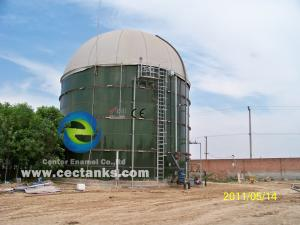 China Glass Fused To Steel Fire Water Tank , Design Comply With NFPA-22 on sale