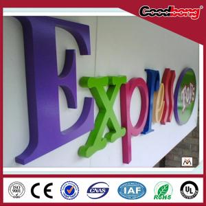 Colorful Custom Outdoor 3d Arcylic Advertising Led Letter Signs