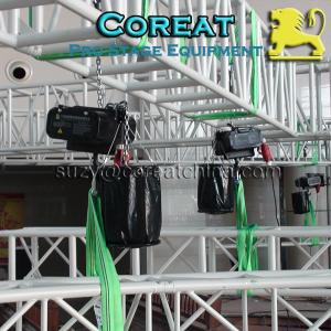 China 1000KG Capacity Audio LED Truss Equipment Hoisting Chain Motor on sale