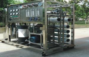 China Mobile RO Seawater Reverse Osmosis Desalination Equipment , Water Purifier Systems on sale