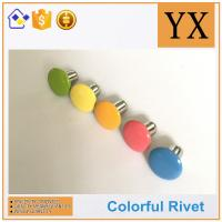 High Quality Hollow rivets for stationery Colorful metal fastener rivets