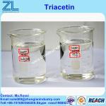 Efficient plasticizer Foundry grade Triacetin synthesis liquid cas 102-76-1