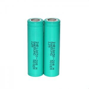 China Original 18650 2000mah 3.7V 18650 high capacity 20A rechargeable battery for samsung for battery pack on sale