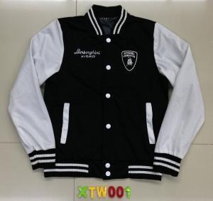 China XTW001 Men's knitting baseball jackets coats swearshirt stock on sale