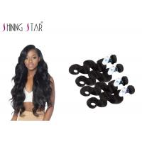China Peruvian Body Wave Unprocessed Remy Hair Weave For America Girls No Tangle on sale