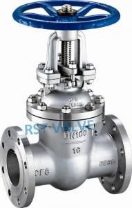 China Stainless Steel Flanged Gate Valve, GB/T on sale
