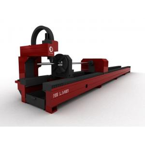 China Professional 1000W Laser Pipe Cutting Machine For Metal , Steel Tube Cutting Machine on sale