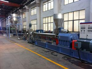 China hot melt granulation production line/PP/PE/ABS/EVA crumbles pelletizing line on sale